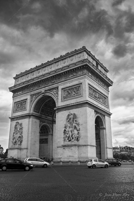 Paris - L'arc de Tiomphe